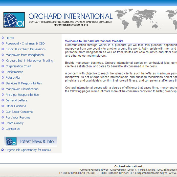 Orchard INTL