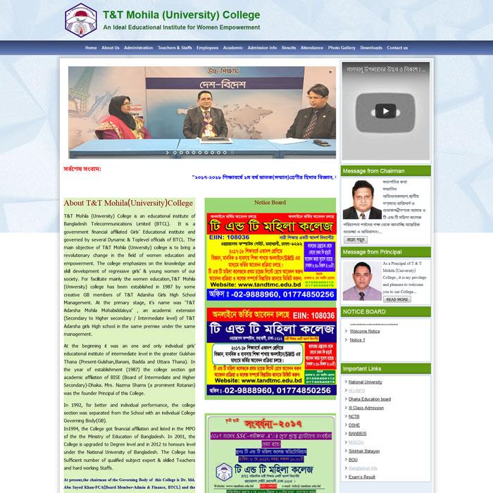 T & TM College