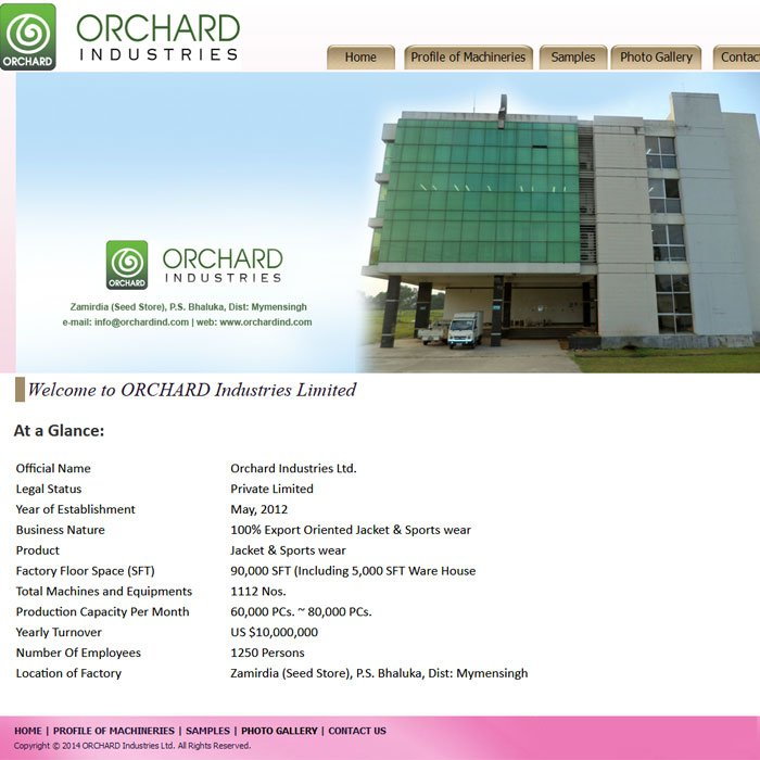 Orchard Ind