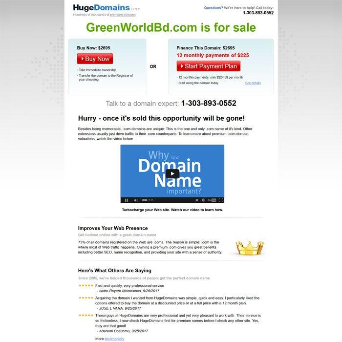 Huge Domains