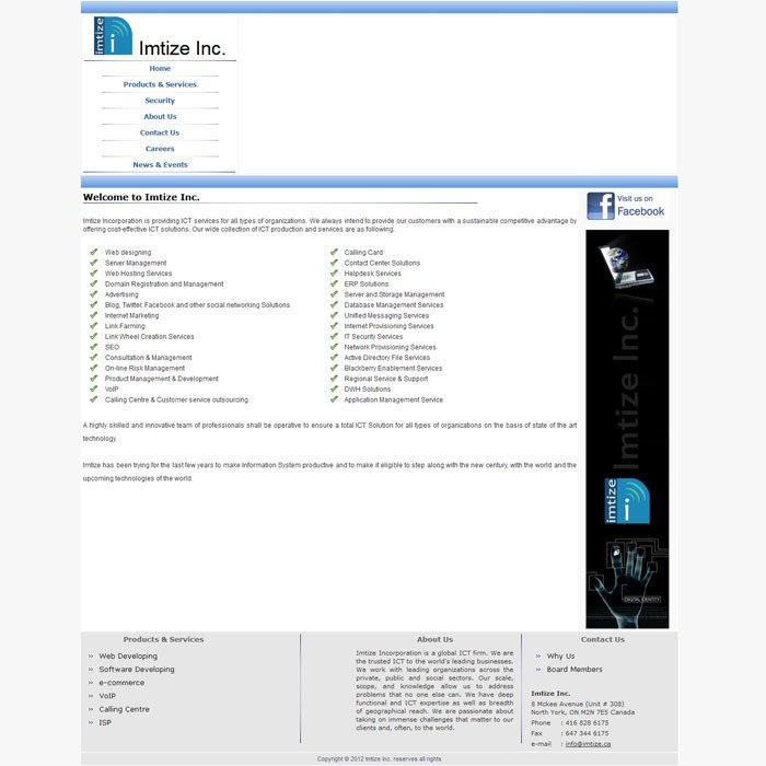 Imtize Inc | Top Domain Hosting Company in Bangladesh, Web