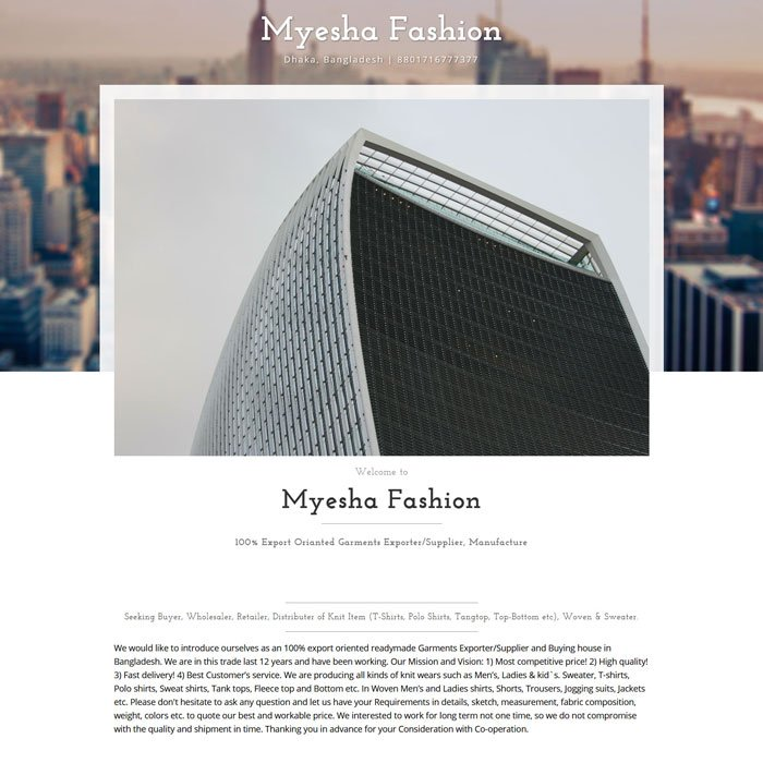 Myesha Fashion