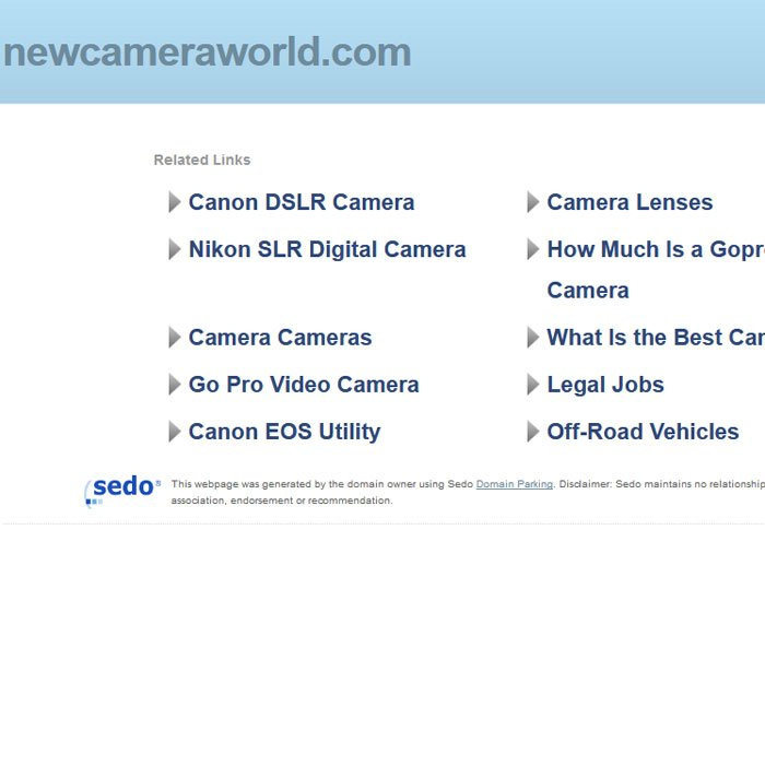 New Camera World